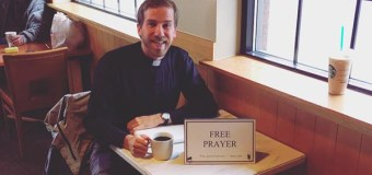 "Lutheran Pastor Shares Why He Offers ""Free Prayer"" In a Coffee Shop"