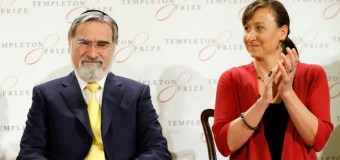 Former Chief Rabbi of Britain, Jonathan Sacks, Wins 2016 Templeton Prize