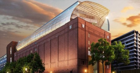 The Museum of The Bible, set to open in Washington DC in fall 2017 (Courtesy)