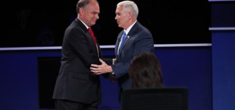 Abortion Comes Up at Tim Kaine, Mike Pence Vice-Presidential Debate