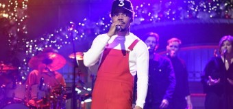 Chance the Rapper Performs on SNL, Sings 'Happy Birthday Jesus' (Video)