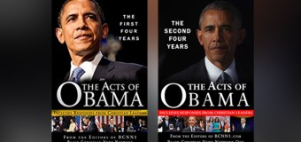 "Black Christian News Network One Publishes Record of President Obama's Second Term, ""The Acts of Obama: The Second Four Years"""
