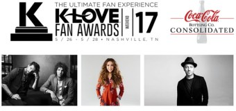 2017 K-LOVE Fan Awards Nominees Announced; for KING & COUNTRY, Lauren Daigle, and TobyMac Top