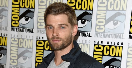 Actor Mike Vogel attends the CBS Television Studios press room during Comic-Con International 2015 at the Hilton Bayfront on July 9, 2015 in San Diego, California. (Jason Merritt/Getty Images North America)