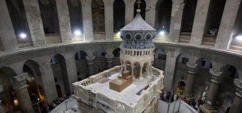 $4 Million Project to Restore the Tomb of Jesus In Jerusalem Is Completed