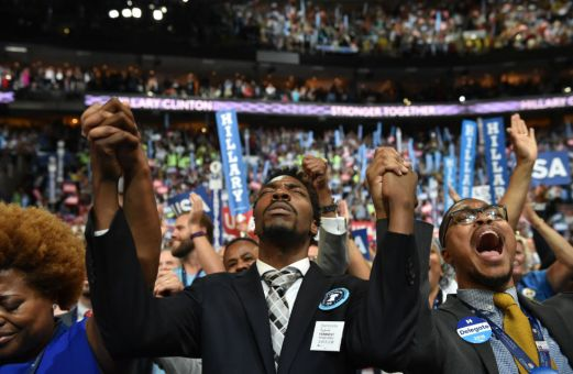 When Barber spoke at the Democratic National Convention last year, he lit up the arena with his words. (Getty: Michael Robinson Chavez/The Washington Post)