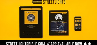 Streetlights Audio Bible Which Delivers Scripture Over a Hip Hop Soundtrack Releases App