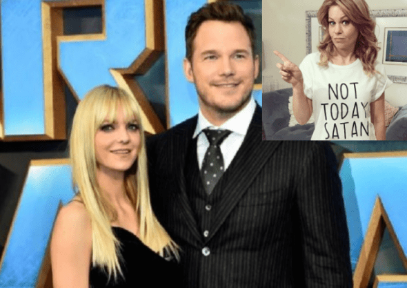 (PHOTO: REUTERS/HANNAH MCKAY AND INSTAGRAM/CANDACE CAMERON BURE) Anna Faris and Chris Pratt were married for eight years and recently announced their separation, Candace Cameron Bure supports Pratt talking about Jesus after the split.