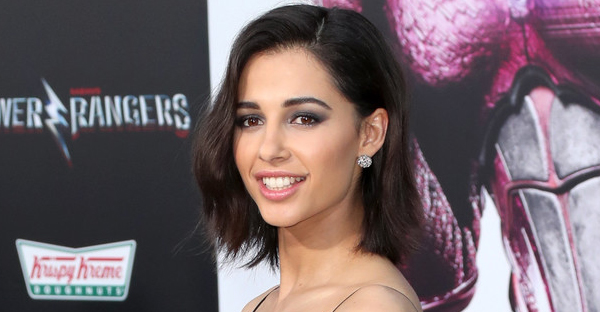 """Actor Naomi Scott at the premiere of Lionsgate's """"Power Rangers"""" on March 22, 2017 in Westwood, California. (Frederick M. Brown/Getty Images North America)"""