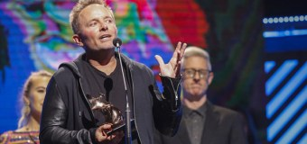 Chris Tomlin Wins 23rd GMA Dove Award, Receives Third American Music Award Nomination