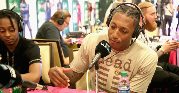 Recording artist Lecrae attends day one of radio broadcast center during the 2017 BET Awards at Microsoft Square on June 23, 2017 in Los Angeles, California. (Maury Phillips/Getty Images North America)