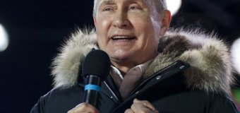 Putin Wins Unsurprising Victory for Another 6 Years as Russian President