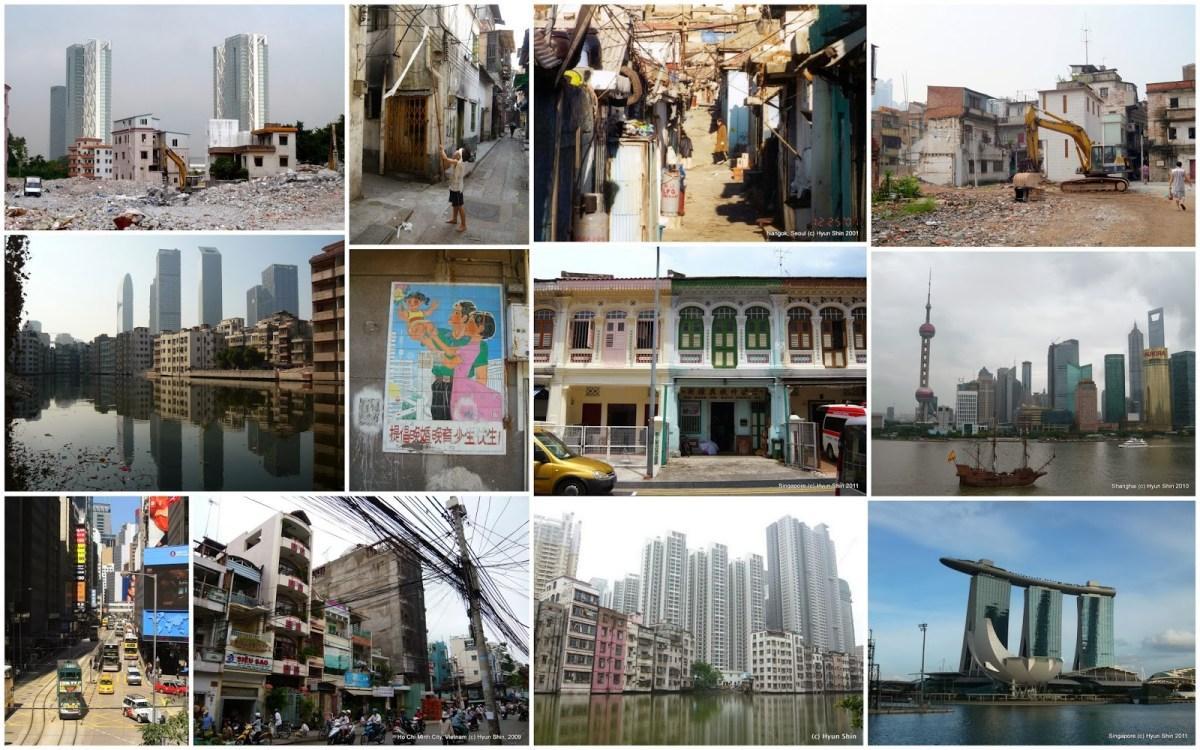 Guangzhou - Seoul - Singapore - Shanghai - Hong Kong - Ho Chi Minh City (c) Hyun Bang Shin (various years)