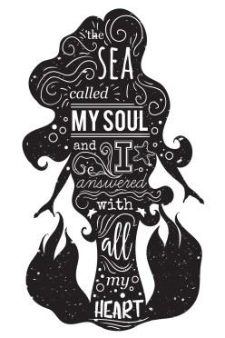 mermaid art book
