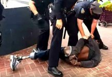 "14 SF Cops Abuse One Legged, Homeless Man After ""Mistaking"" Crutches for Weapons (VIDEO)"