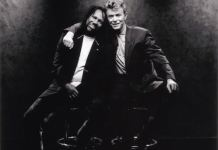 Nile Rodgers and David Bowie
