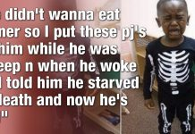 Funny Or Bad Parenting? Little Boy Convinced He Starved To Death! 2