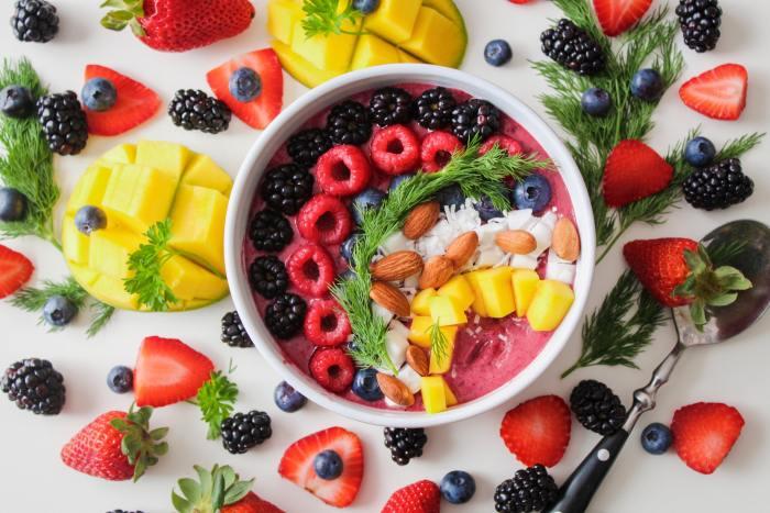 Top View Photo of Food Dessert