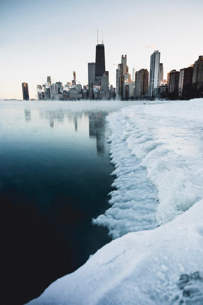 city during winter