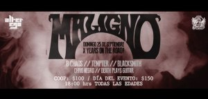 Maligno - X Years On The Road!