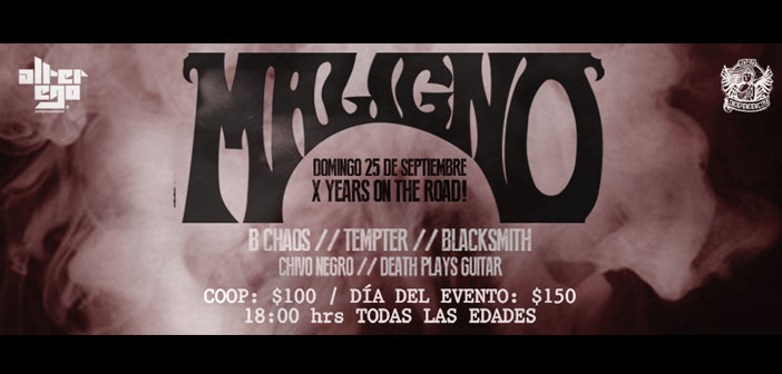 Maligno – X Years On The Road!