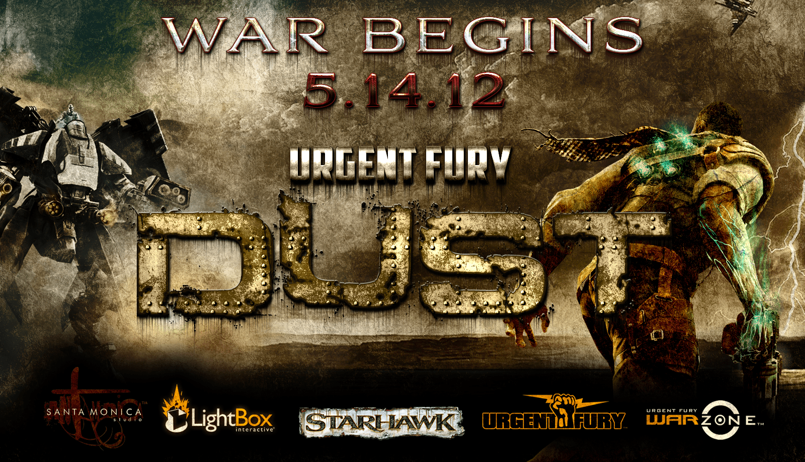 warbeginsad UrgentFury Dust Playstation 3 Tournament | Two Weeks of Starhawk