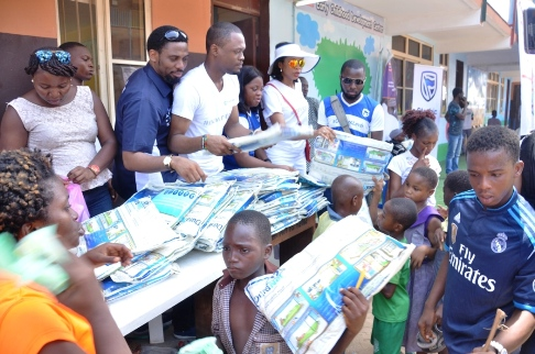 Stanbic IBTC Leads Efforts to Stem Malaria, Distributes Mosquito Nets in Schools