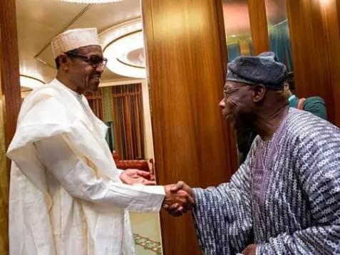 JUST IN: Buhari, Obasanjo Currently  in Crucial Closed Door Meeting