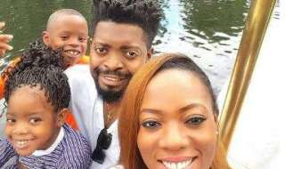 Basketmouth and family
