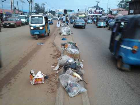 Filth Take Over Asaba as Residents and Refuse Collectors Clash over Price Increase