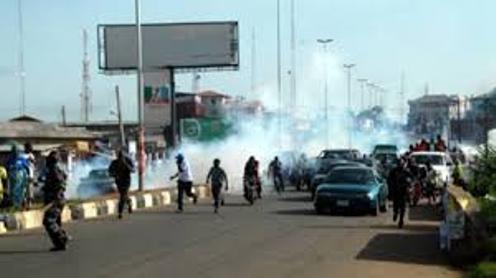 Commotion in Warri Church as Gunmen in Keke NAPEP Snatch  Member's Car