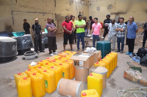 NDLEA Accuses Nine Suspected Operators of Super Methamphetamine Factory of Frustrating Trial