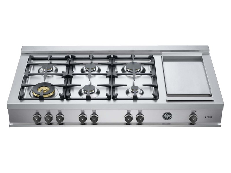 Large Of Gas Cooktop With Griddle