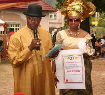 CLASSmagazine: Dr. Uche Eze becomes 1st Patron of Peoples Club of Nigeria International