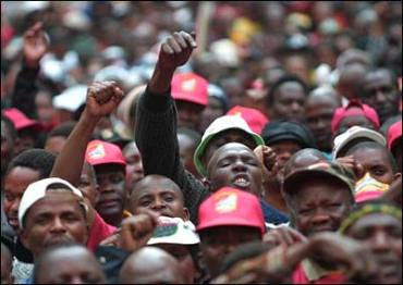 Indefinite STRIKE across South Africa over wages begins….