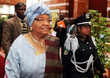 Liberia's incumbent President Sirleaf gain slight lead in early vote count via peaceful elections