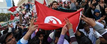 Tunisians celebrate 1st anniversary of forcing dictator Ben Ali to run away
