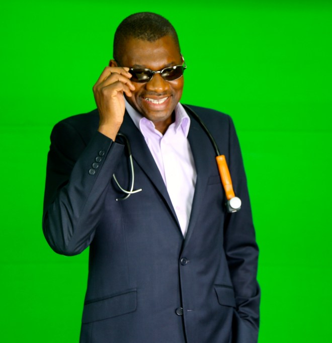 USAfrica: Rudolf Okonkwo on his character as 'Dr. Damages', new book, Buhari, etc