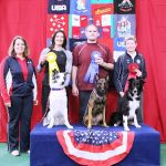 Round 2 Large Dog Winners:1st - Shane Miller & Luna (Belgian Malinois)2nd - Desiree Snellman & Pace (Border Collie)3rd - Lisa Ross & Cool! (Border Collie)