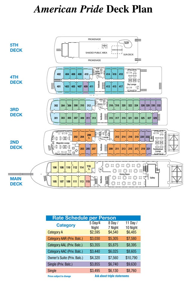 Photo Ncl Deck Plan Images Cruise Ship