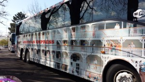 American Empress Motorcoach, Hop-On/Hop-Off Tour Bus