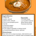 Warm Up with this Pumpkin Soup Recipe