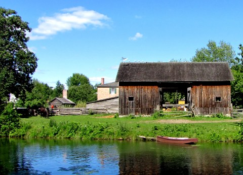 Upper Canada Village - Livery and Cook's Tavern