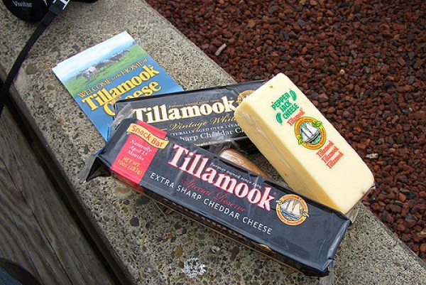 Some packs of Tillamook cheese