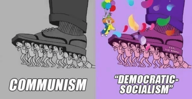 Communism V Democratic Socialism