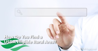 How Do You Find a USDA Eligible Rural Area? - USDA Loan