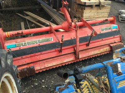 HARROW Niplo HS2201B used compact tractor attachment |KHS japan