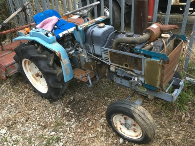 MITSUBISHI D1550S 10393 used compact tractor |KHS japan