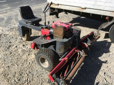 LAWN MOWERS BARRONESS LM184 used agricultural machinery |KHS japan