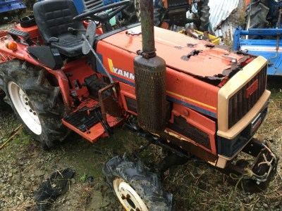 YANMAR F15D 07407 used compact tractor |KHS japan